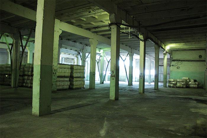 складское помещение 150 руб./м<sup>2</sup> в месяц