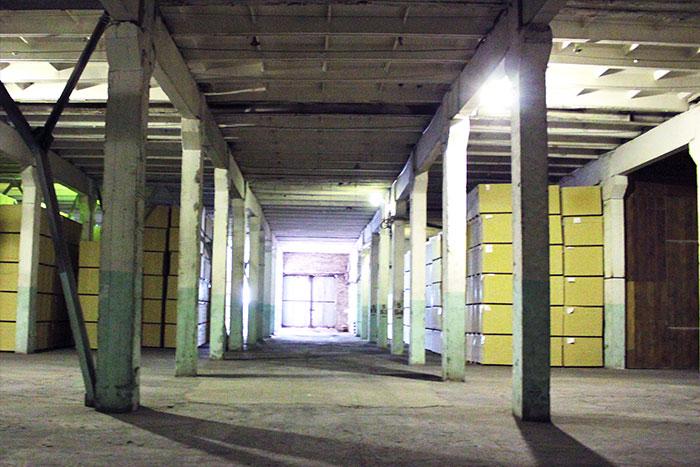 производственного помещения изнутри