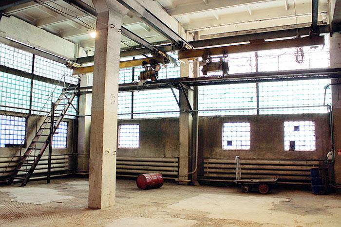 производственного помещения 5096 м²